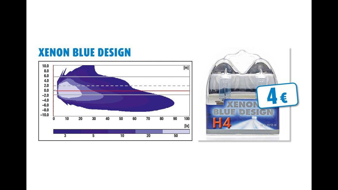 Xenon Blue Design