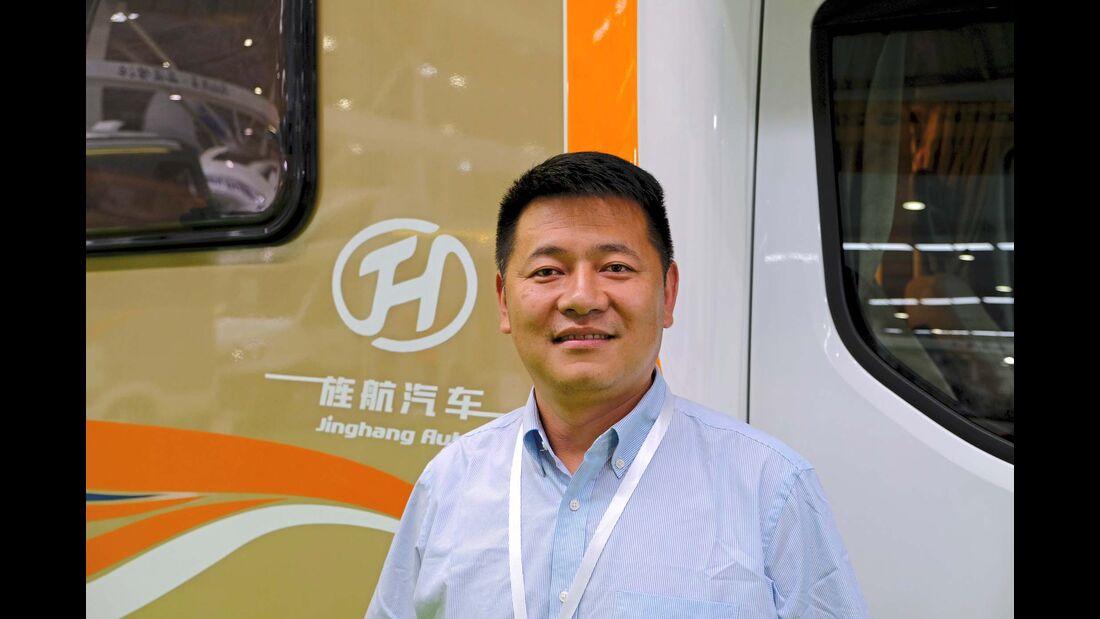Xu Yongwang, Geschäftsführer von Jingang