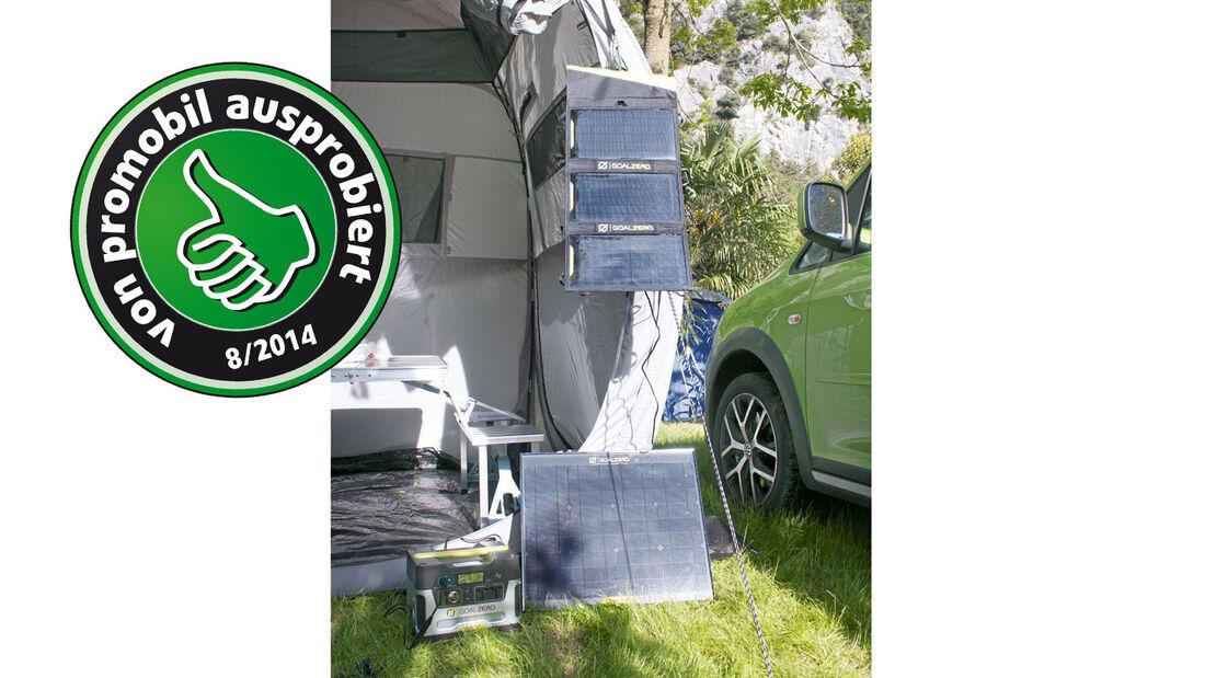 Zubehör: Goalzero, Solarpanels