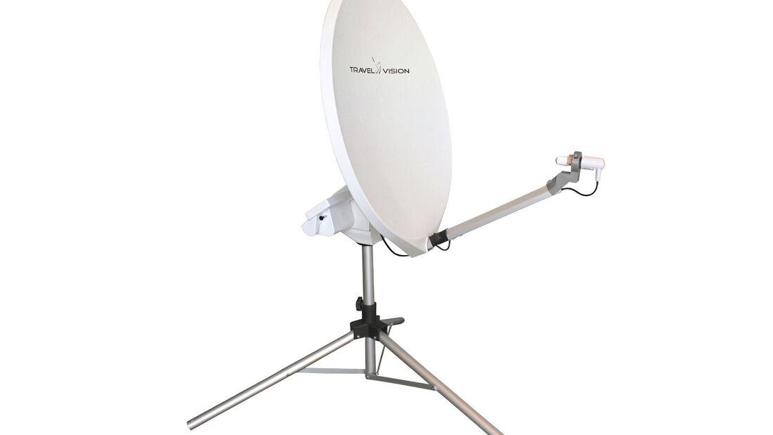 Zubehör: Travelvision, Sat-Antenne