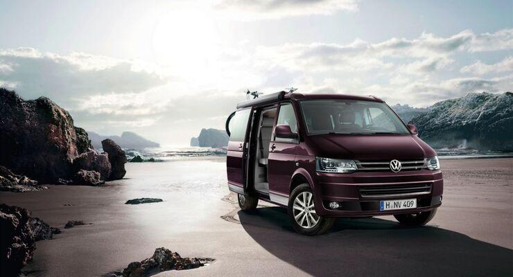 Zum 25. Geburtstag des Reisemobils California bringt VW den California Generation auf den Markt.