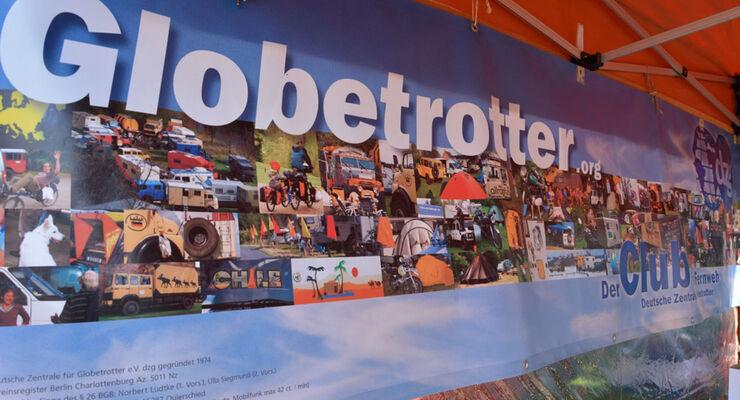 Zum 40 jährigen Jubiläum treffen sich einige hunderte Globetrotter vom 3. bis 7. Juli in Hachenburg zum feiern. Es entstand ein Reisefürhrer, der das Reisegefühl der Nachkriegsgeneration ausdrückte.