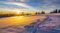 Zum Skifahren muss niemand mit dem Reisemobil in die Ferne schweifen – auch deutsche  Mittelgebirge wie das Hochsauerland haben viel zu bieten.
