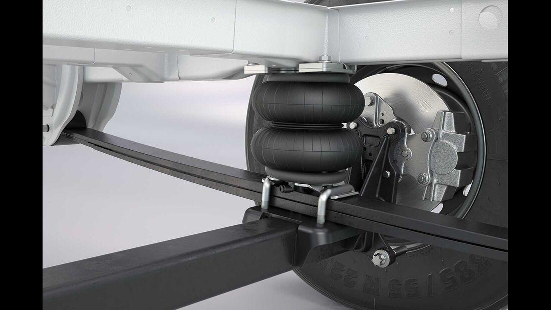 Zusatzluftfeder Hinterachse Fiat Ducato