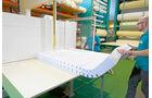 Zuschneiden der Matratze