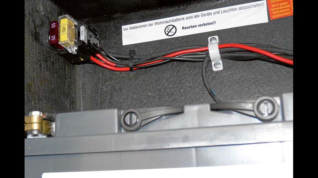 Zwischengeschaltete 20-Ampere-Sicherung