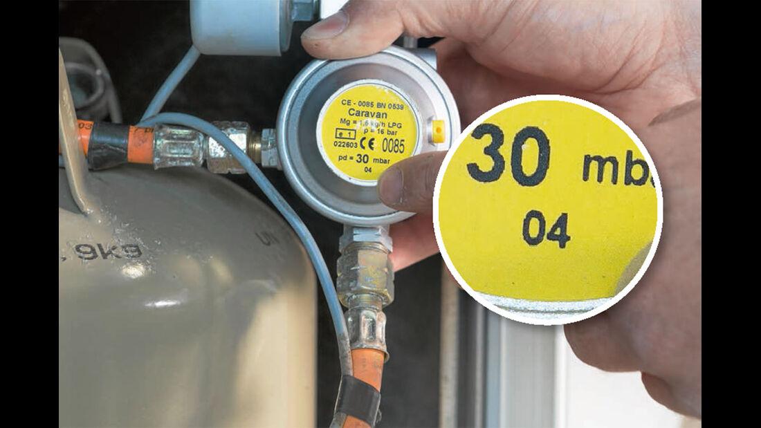 alter des Gasreglers