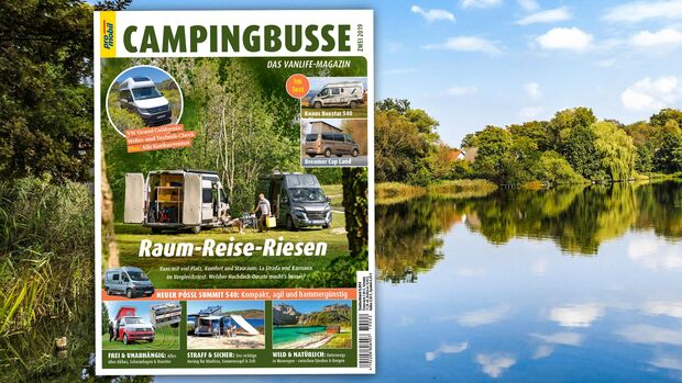 promobil Campingbusse-Extra 02/2019