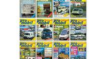 promobil Cover von 1983-1993