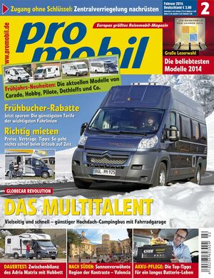 promobil Heft 01/2014