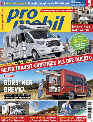 promobil Heft 04/2014