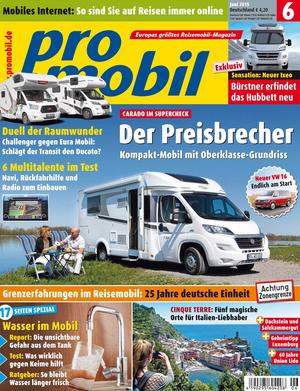 promobil Heft 062015