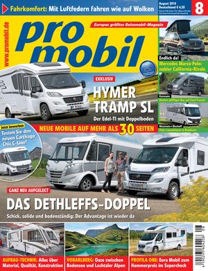 promobil Heft 08/2014