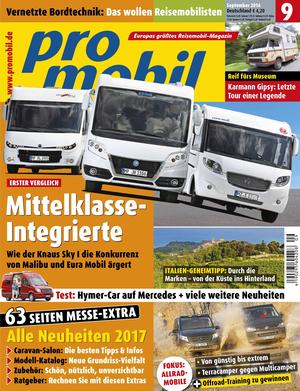 promobil Heft 09/2016