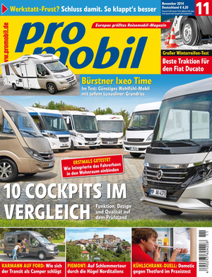 promobil Heft 10/2014
