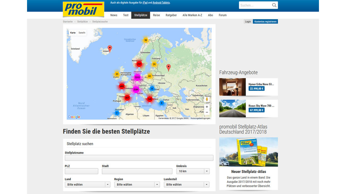 promobil Relaunch 2017