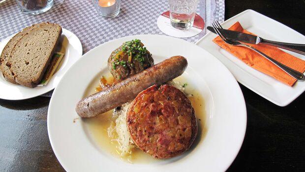 südlicher Pfälzerwald Pfälzer Küche