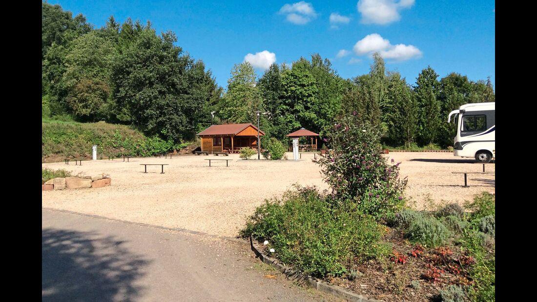 südlicher Pfälzerwald Wohnmobilstellplatz Hornbach