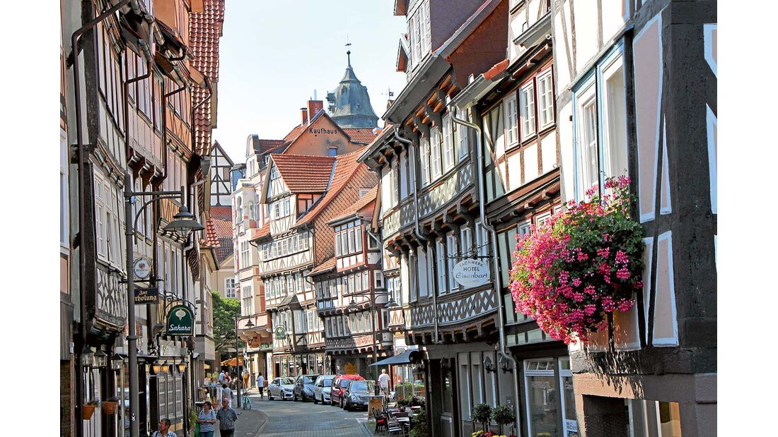 verwinkelte Altstadt von Hannoversch-Münden
