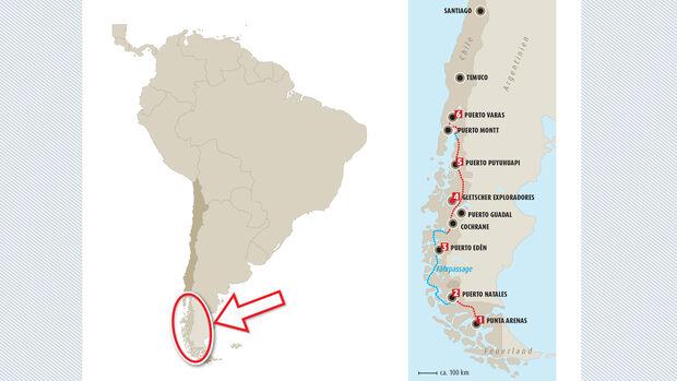 wohnmobil, tour, patagonien, chile